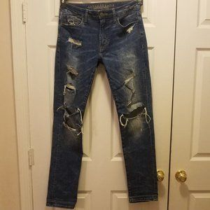 Men's American Eagle Outfitters Distressed Jeans